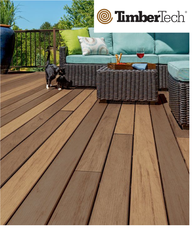 timbertech composite decking los angeles california